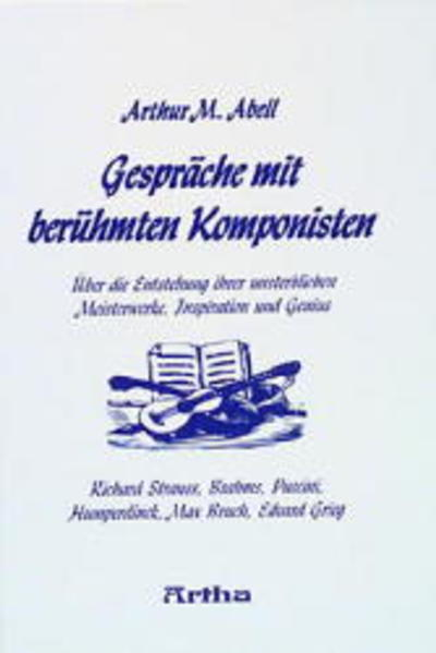 Gespräche mit berühmten Komponisten als Buch