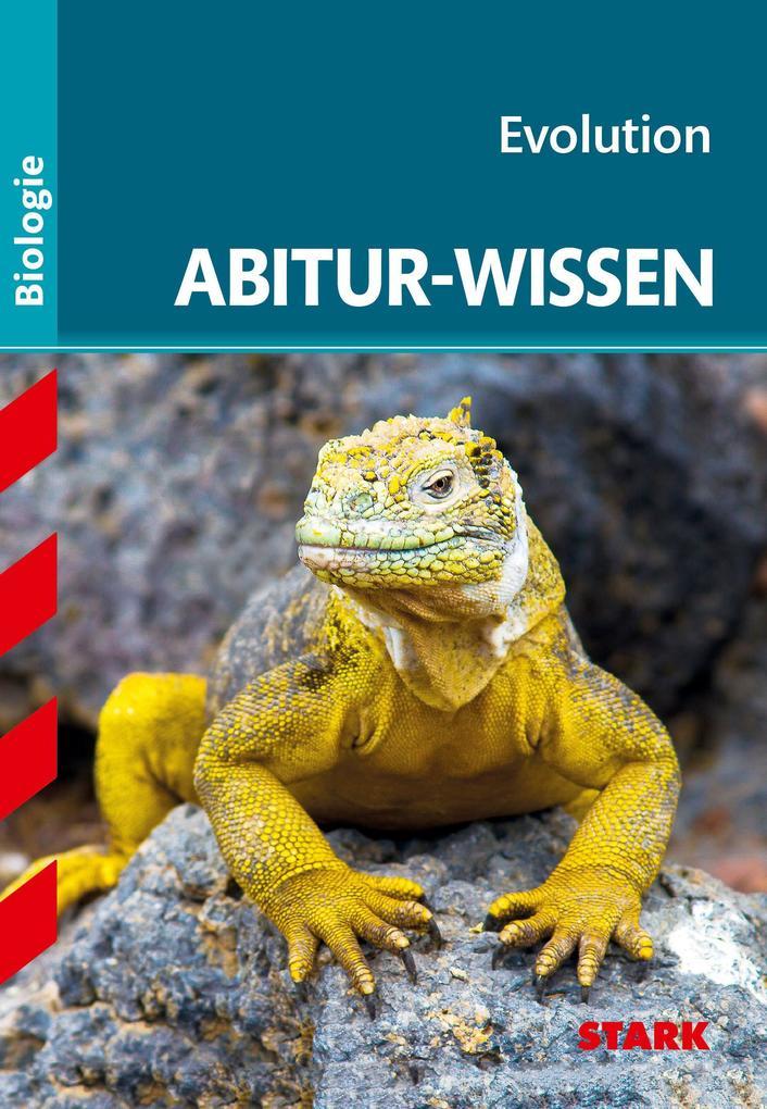 Abitur-Wissen - Biologie - Evolution als Buch v...