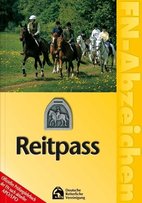 FN-Abzeichen. Deutscher Reitpass als Buch