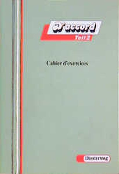 D' accord 2. Cahier d'exercices als Buch