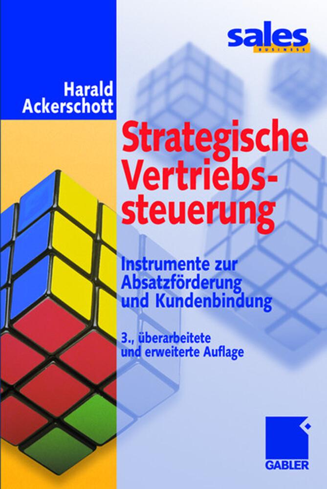 Strategische Vertriebssteuerung als Buch