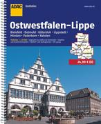 ADAC Stadtatlas Ostwestfalen-Lippe mit Bielefeld, Detmold, Gütersloh, Lippstadt 1 : 20 000