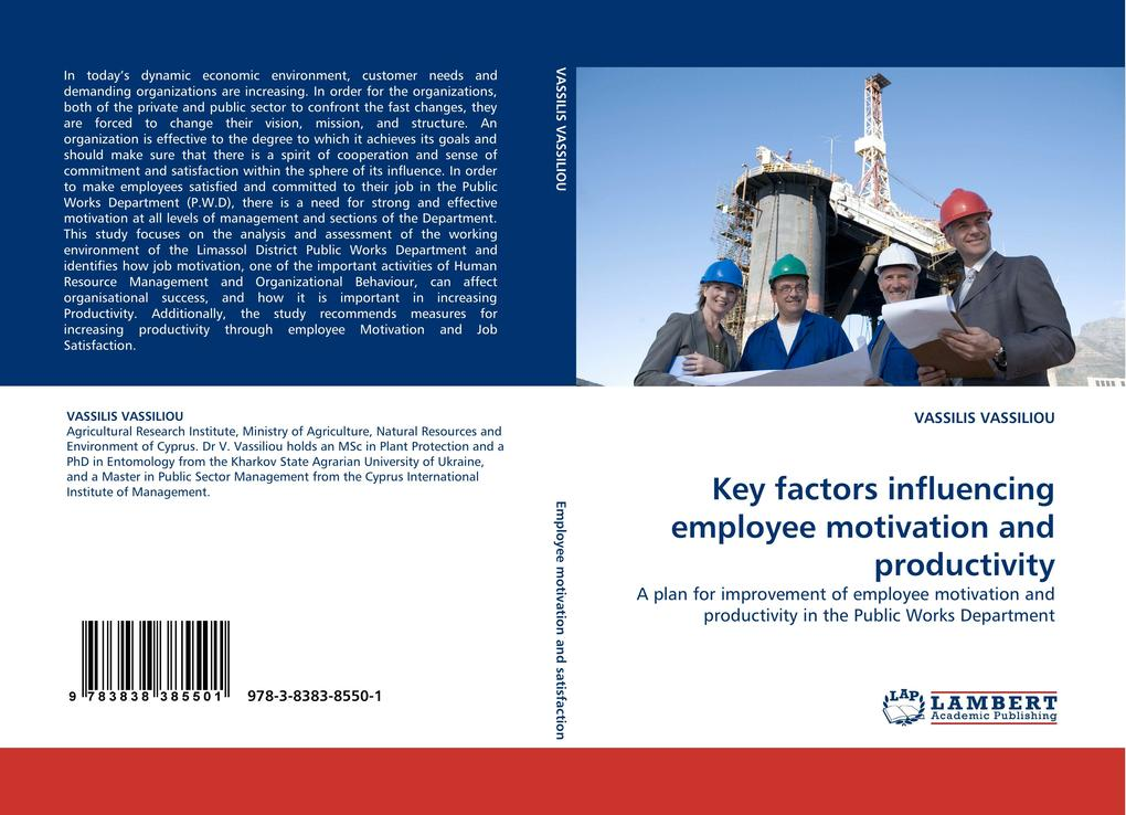 Key factors influencing employee motivation and...