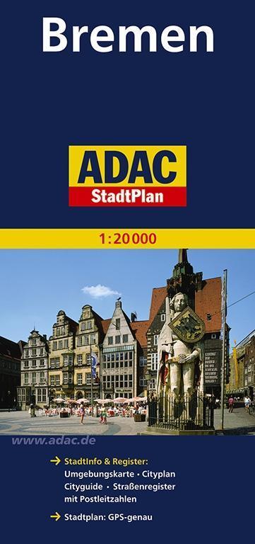ADAC Stadtplan Bremen 1 : 20 000 als Buch