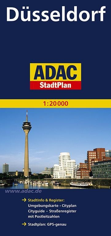 ADAC Stadtplan Düsseldorf 1 : 20 000 als Buch
