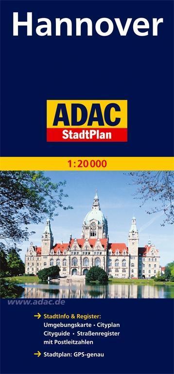 ADAC Stadtplan Hannover 1 : 20 000 als Buch