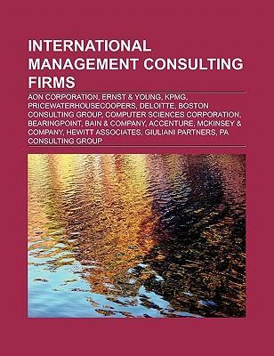 International management consulting firms als T...