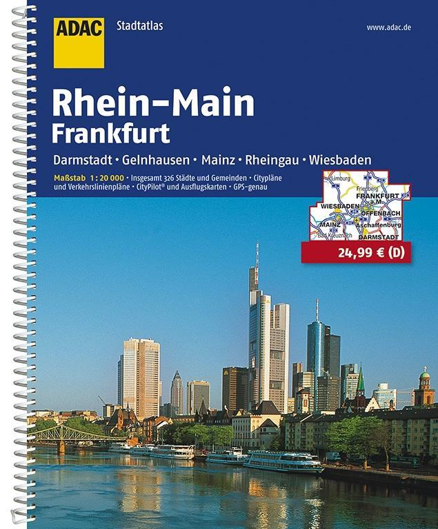ADAC Städte- und Gemeindeatlas Rhein-Main / Frankfurt 1 : 20 000 als Buch