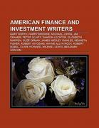 American finance and investment writers