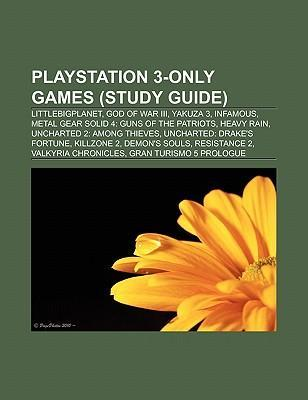 PlayStation 3-only games (Book Guide) als Tasch...