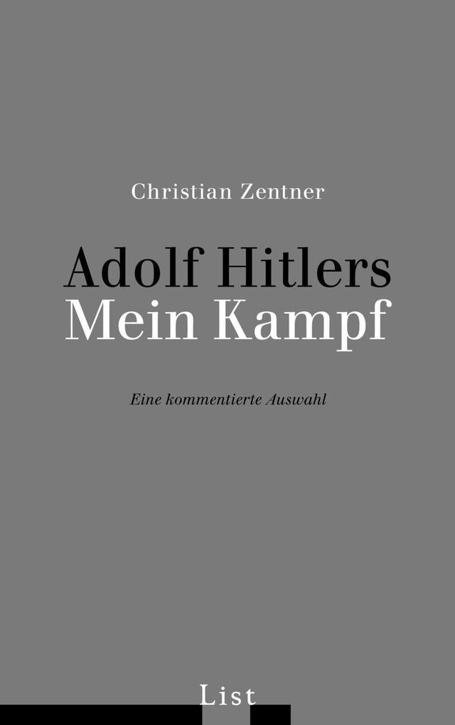 Adolf Hitlers Mein Kampf als Buch