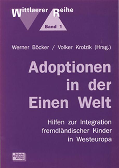 Adoptionen in der Einen Welt als Buch