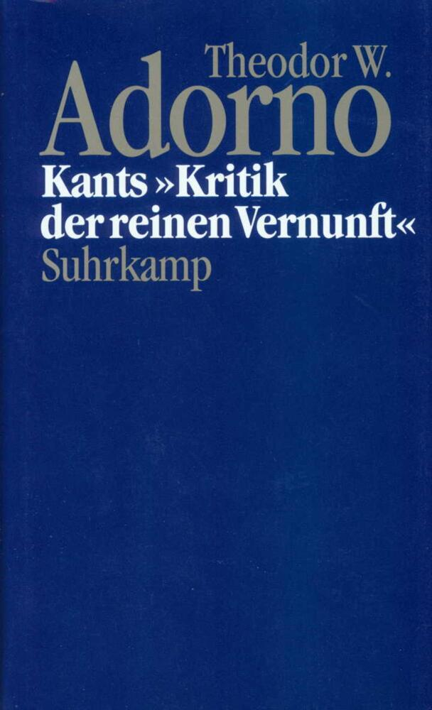 Kants 'Kritik der reinen Vernunft' (1959) als Buch