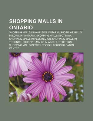 Shopping malls in Ontario als Taschenbuch von
