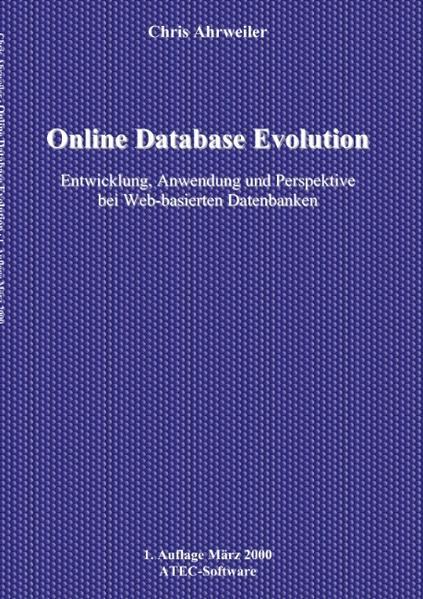Online Database Evolution als Buch