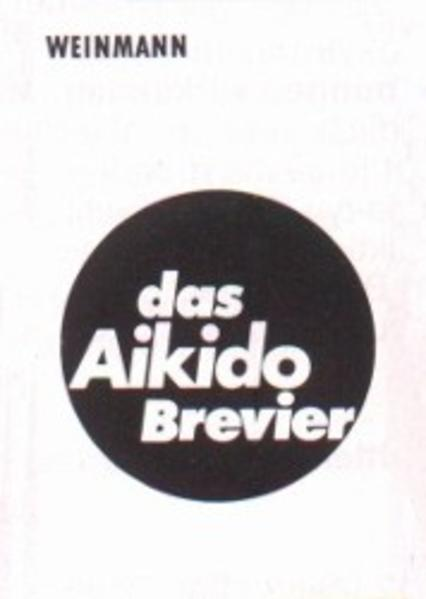 Das Aikido Brevier als Buch
