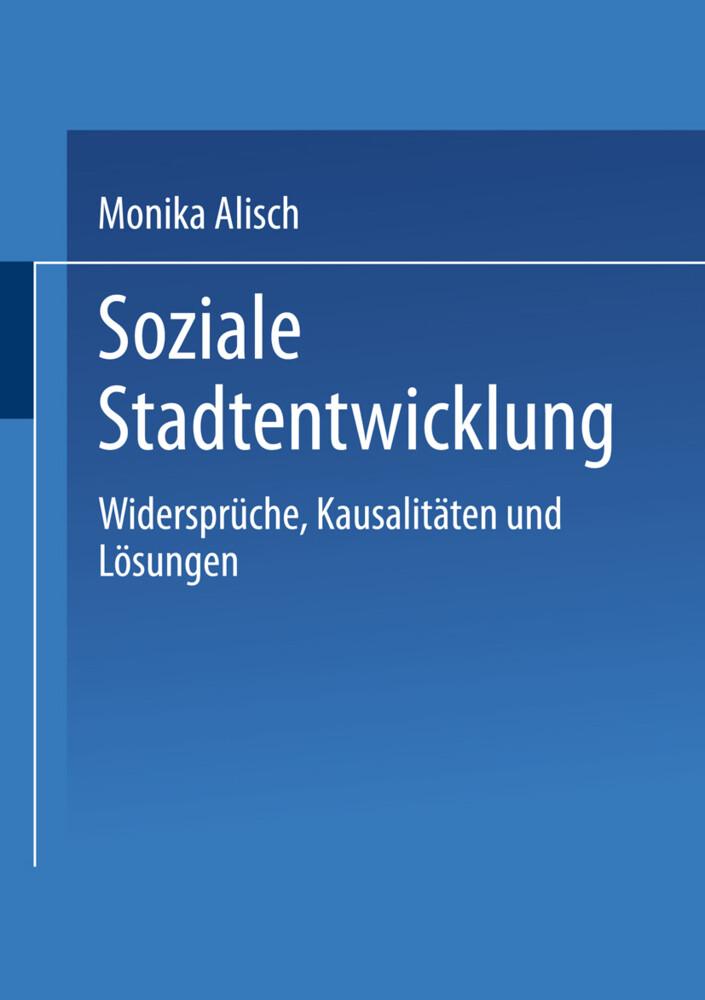 Soziale Stadtentwicklung als Buch