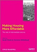 Making Housing More Affordable: The Role of Intermediate Tenures