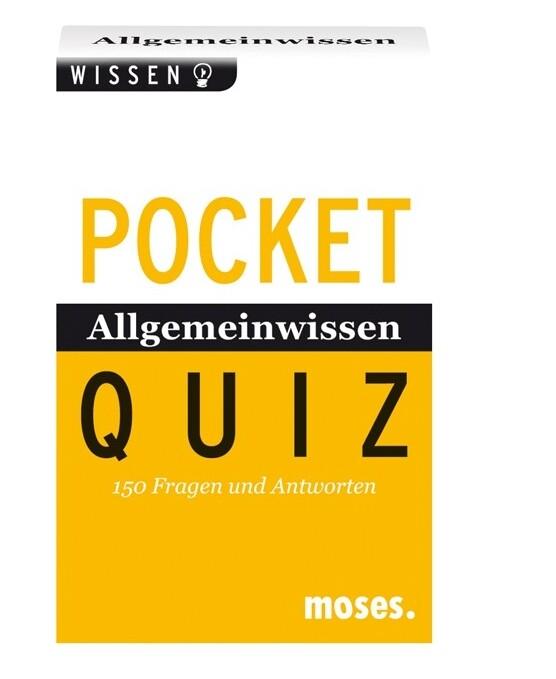 Allgemeinwissen von A - Z. Pocket Quiz als Buch