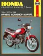 Honda CB/CD125T and CM125C Twins 1977-88 Owner's Workshop Manual