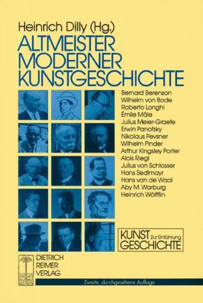 Altmeister moderner Kunstgeschichte als Buch