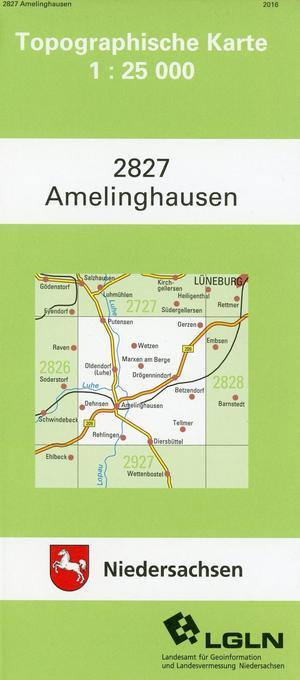 Amelinghausen 1 : 25 000. (TK 2827/N) als Buch