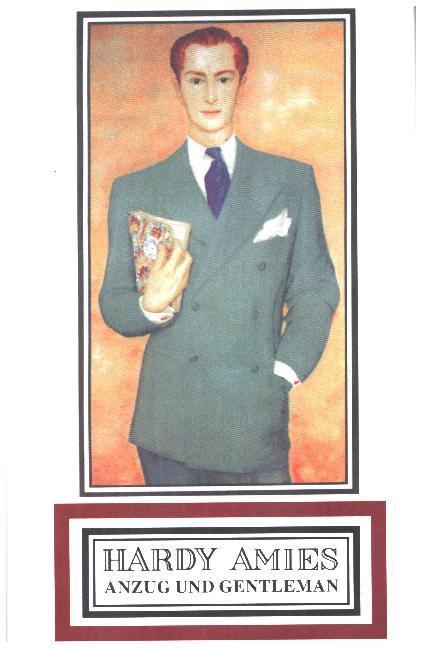 Anzug und Gentleman als Buch