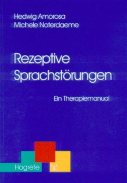 Rezeptive Sprachstörungen als Buch
