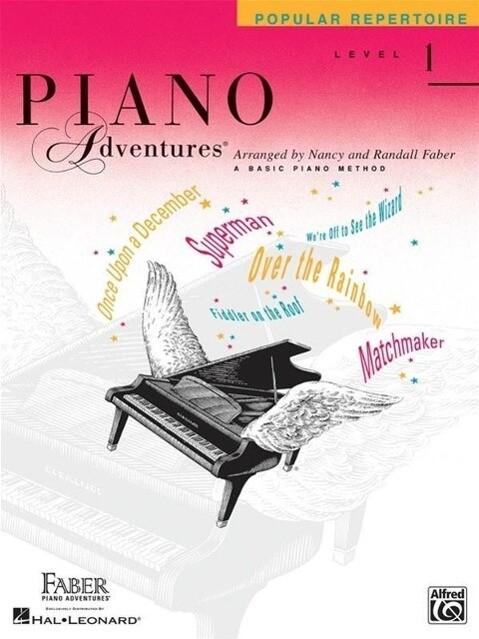 Piano Adventures: Popular Repertoire, Level 1: A Basic Piano Method als Taschenbuch
