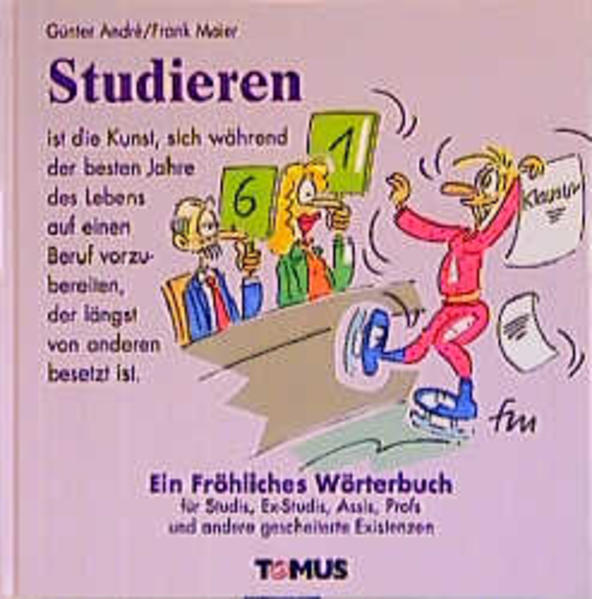 Studieren. Ein fröhliches Wörterbuch als Buch