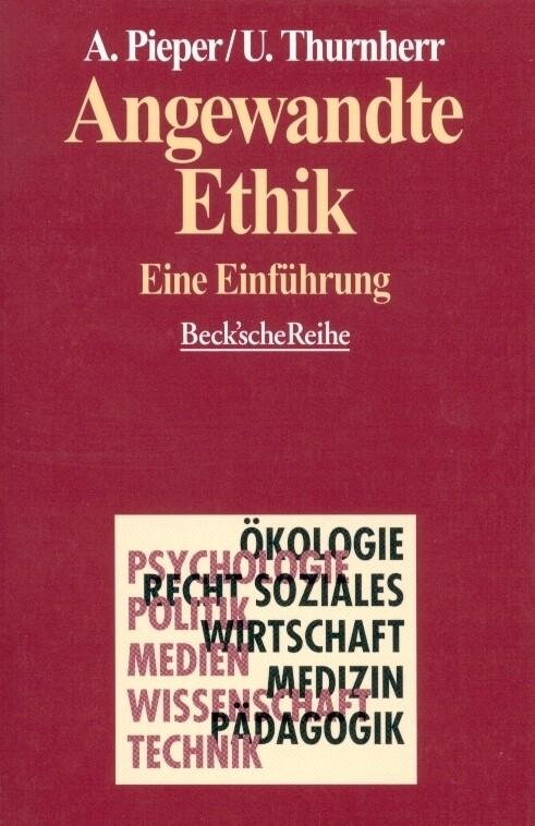 Angewandte Ethik als Taschenbuch