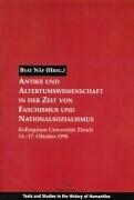 Antike und Altertumswissenschaften in der Zeit von Faschismus und Nationalsozialismus als Buch
