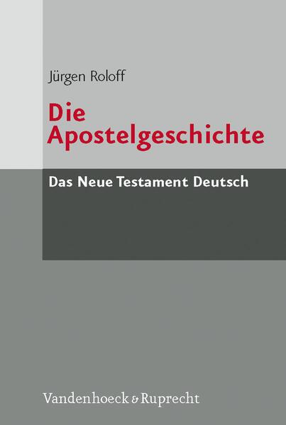 Die Apostelgeschichte als Buch (kartoniert)
