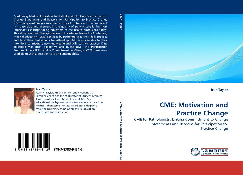 CME: Motivation and Practice Change als Buch vo...