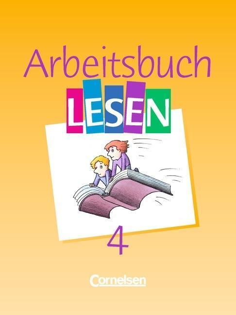 Arbeitsbuch Lesen 4. RSR als Buch