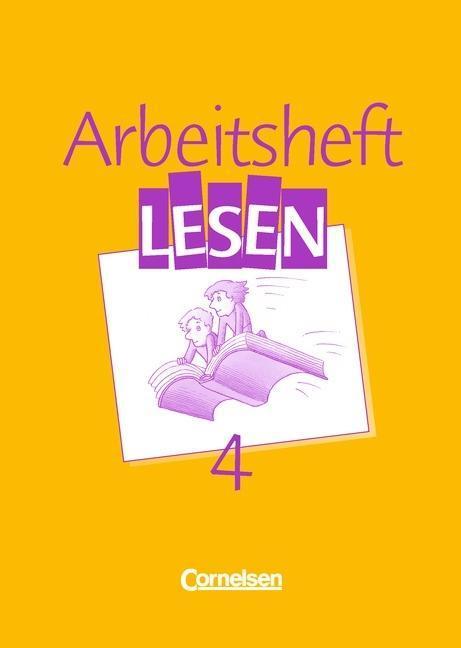 Arbeitsbuch Lesen 4. RSR. Arbeitsheft als Buch