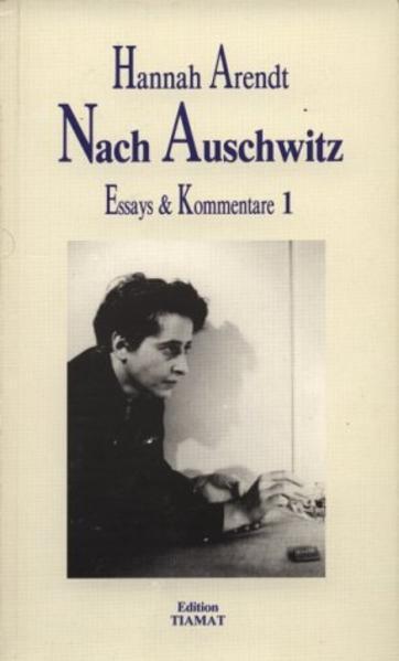 Essays und Kommentare 1. Nach Auschwitz als Buch
