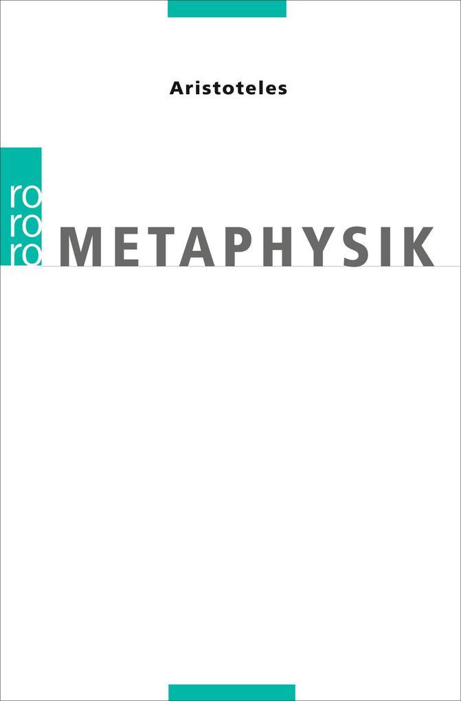 Metaphysik als Taschenbuch