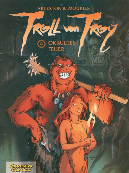 Troll von Troy 04: Okkultes Feuer als Buch