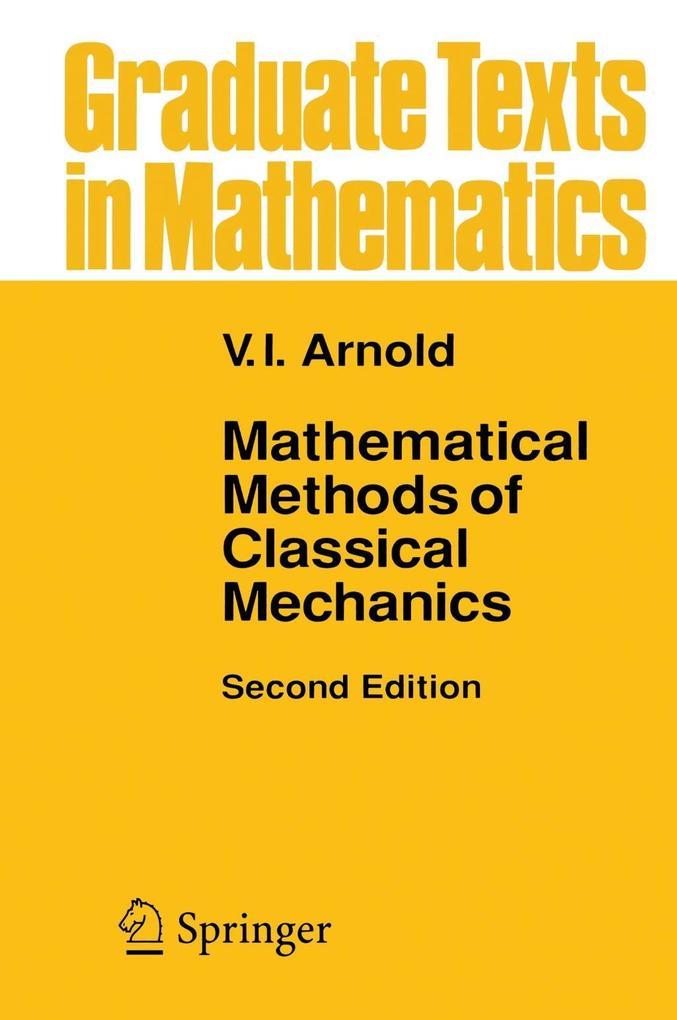 Mathematical Methods of Classical Mechanics als Buch