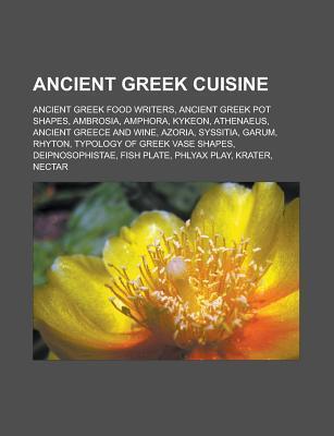Ancient Greek cuisine als Taschenbuch von
