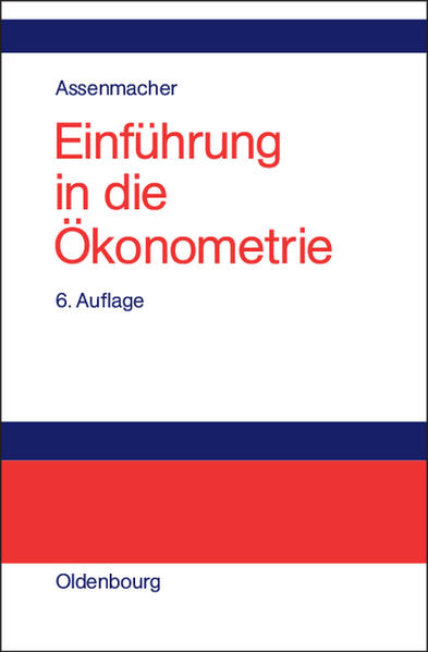 Einführung in die Ökonometrie als Buch (gebunden)
