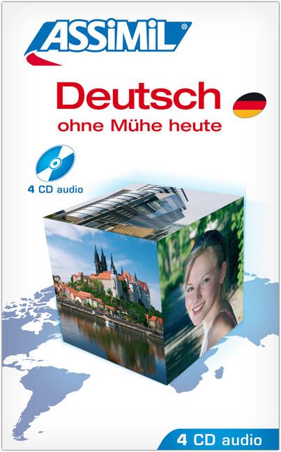 Assimil-Methode. Deutsch ohne Mühe heute. 4 CD's als Hörbuch