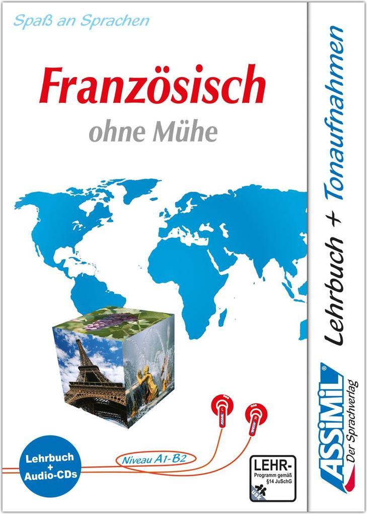 Assimil. Französisch ohne Mühe. Multimedia-Classic. Lehrbuch und 4 Audio-CDs als Buch