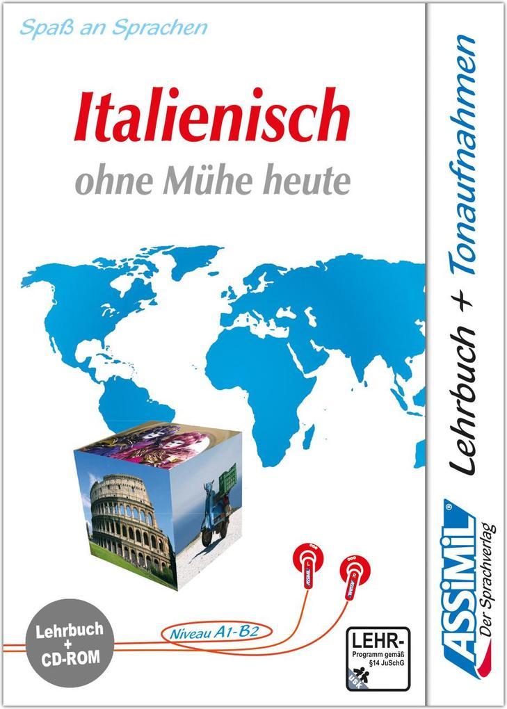 Assimil. Italienisch ohne Mühe heute. Multimedia-PC. Lehrbuch und CD-ROM für Win 98 / ME / 2000 / XP als Software
