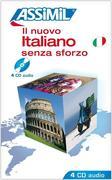 Assimil-Methode. Italienisch ohne Mühe heute. 4 CD's. Il nuovo italiano senza sforzo