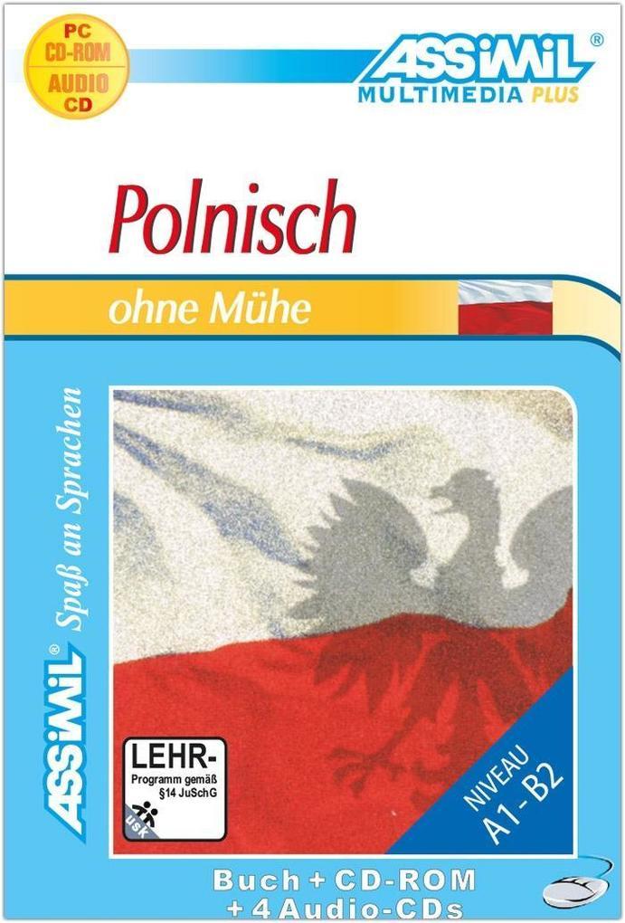 Assimil. Polnisch ohne Mühe. Multimedia-PLUS. Lehrbuch und 4 Audio CDs und CD-ROM für Win 98 / ME / 2000 / XP als Software
