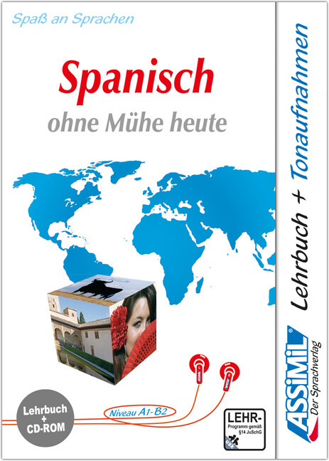 Assimil. Spanisch ohne Mühe heute. Multimedia-PC. Lehrbuch und CD-ROM für Win 98/ME/2000/XP als Software