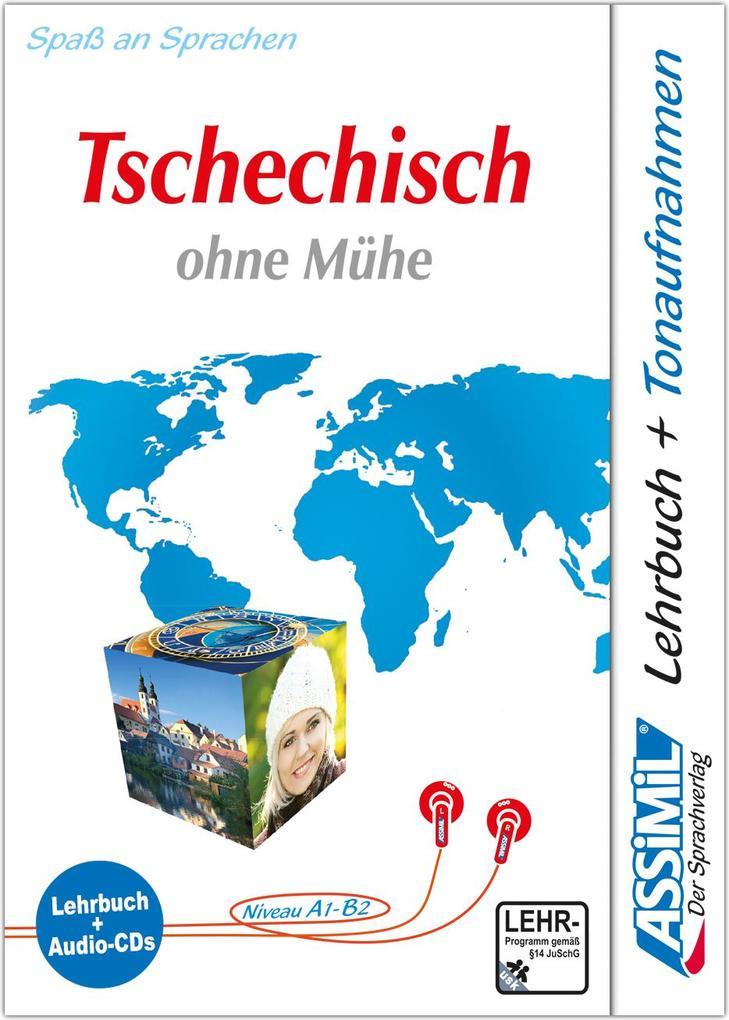 Assimil. Tschechisch ohne Mühe. Multimedia-Classic. Lehrbuch und 4 Audio-CDs als Buch