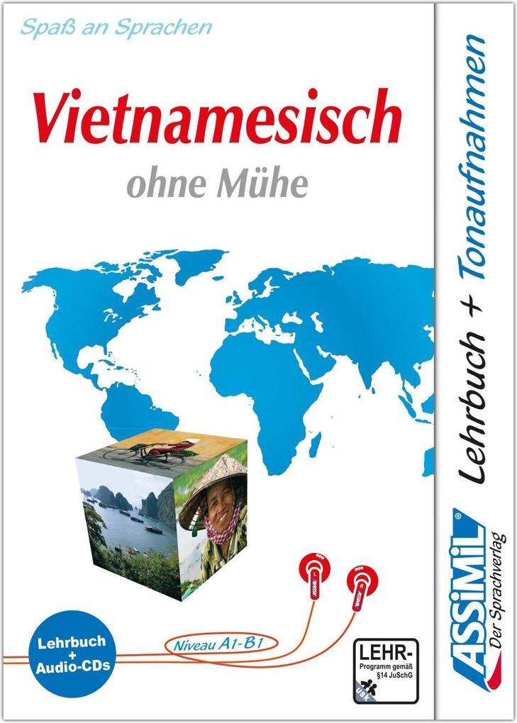 ASSiMiL Vietnamesisch ohne Mühe. Lehrbuch (Niveau A1 - B1) + 4 Audio-CDs als Hörbuch